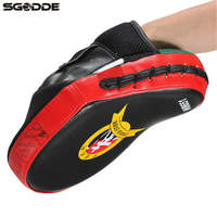 2PCS Boxing Gloves Target Punching Pads Kicking Fight Exercises Gear Glove For Muay Thai Kick MMA