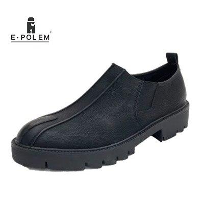 Bajo Picture Hombres Chelsea Pedal Plataforma Es Cuero Zapatos Nuevo fósforo Moda Corte Cordones La De Casuales Boca As No Del Grueso Todo Los AwAPBx0q6