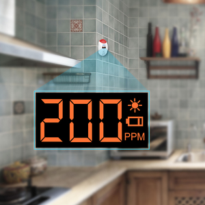 Image 4 - KERUI 3 قطعة مستقرة LED شاشة ديجيتال صوت ستروب أول أكسيد الكربون للكشف عن أمن الوطن المشارك الغاز الكربون جهاز استشعار إنذار كاشف