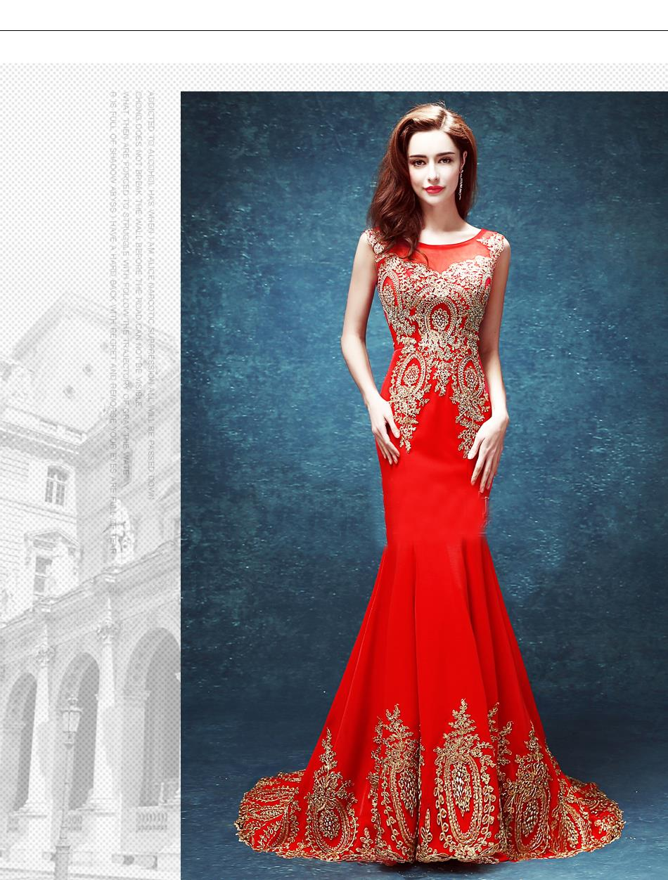 zkc uncle 18 25 year old sheath mermaid crystal dress red o neck ...