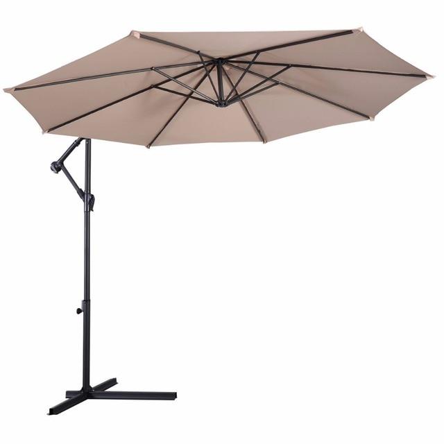 Giantex 10' Hanging Patio Umbrella  3