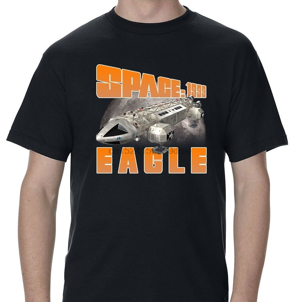 Space 1999 Eagle Retro Tv Show Film 90s 80s Spaceship Movie Sci Fi 6 T Shirt T-shirts Clothing, Shoes & Accessories