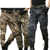 IX7 City Military Cargo Pants Special Forces Tactical Camo Pants Army Combat SWAT Long Trousers Men