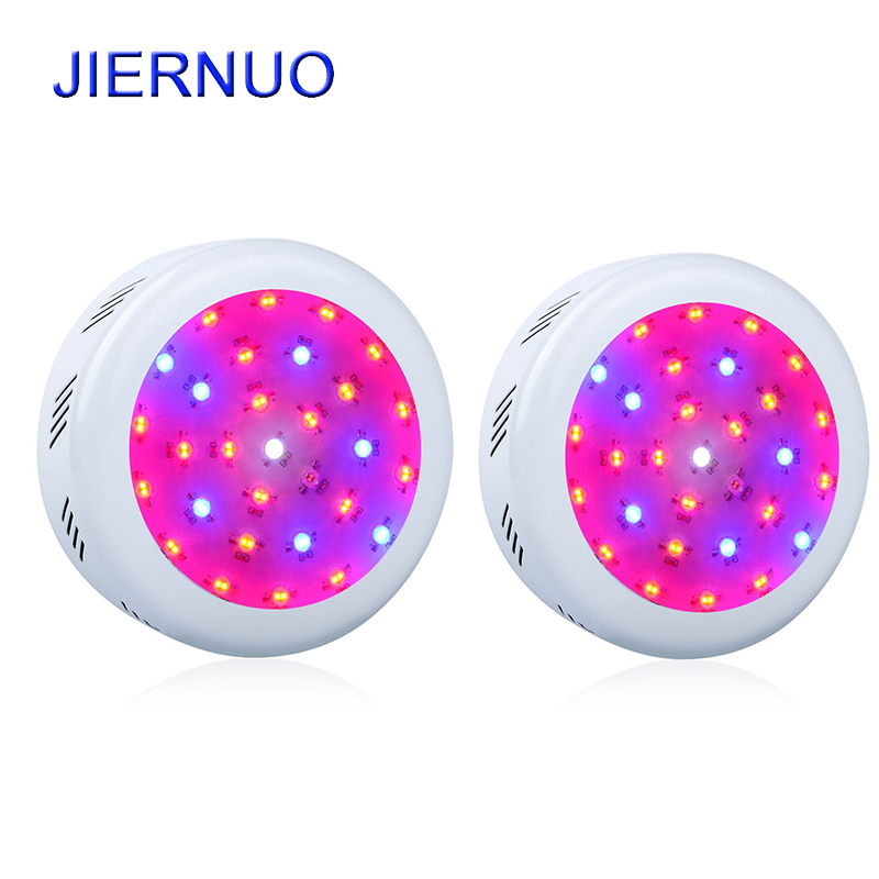 2pcs/lot 300W UFO LED Grow light Full Spectrum Double chips Medical Plant Lamp for Greenhouse Plant Light Indoors plants growing 90w ufo led grow light 90 pcs leds for hydroponics lighting dropshipping 90w led grow light 90w plants lamp free shipping