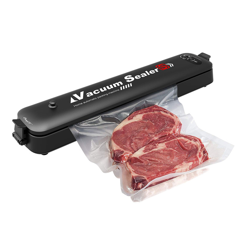 Automatic Home Vacuum Sealer Pump USB Kitchen Professional Vacuum Sealing Machine Food Saver Preservation System With 15 Bags 40