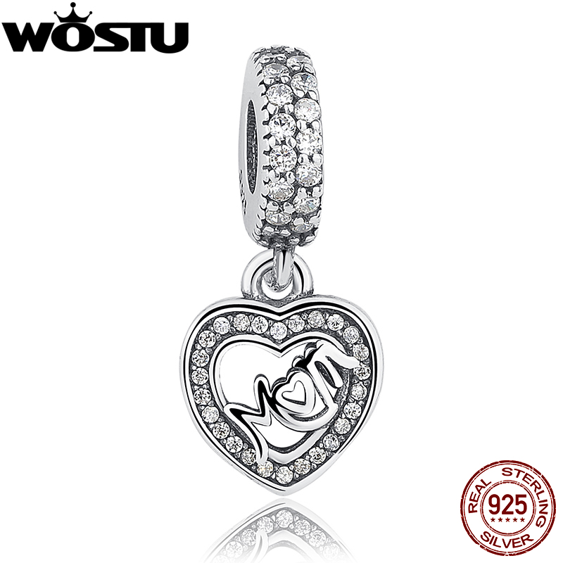 Hot Sale Asli 100% 925 Sterling Silver Pendant Charm Menjuntai Fit - Perhiasan fashion - Foto 4