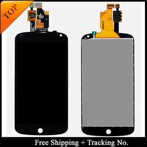 Image 2 - Tracking No.ทดสอบ100% จอแสดงผลLcdสำหรับLG Google Nexus 4 E960จอแสดงผลLCD Touch Digitizer Assembly