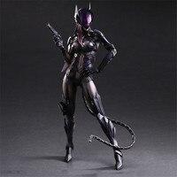 DC Batman Series Catwoman Action Figures Play Arts BJD Collectible Toys 25cm