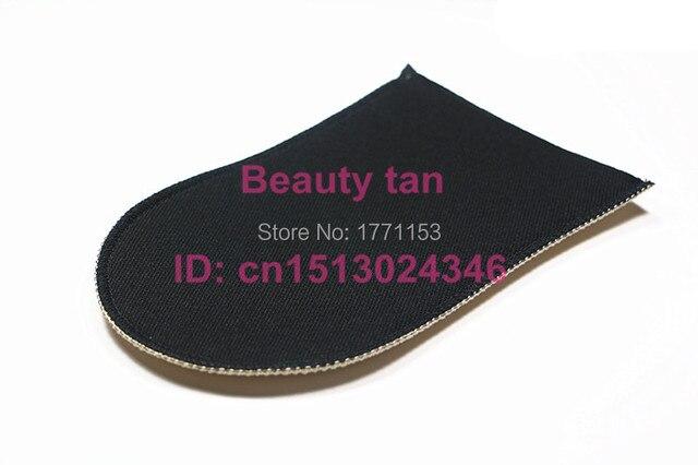 2pcs/lot Self Tan Mitt, Tan Applicator of Tanning Lotion, Spray Tan for Bronzer , Soft Velvet can be reusable