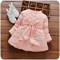 New Baby Girl Dresses Thickness Winter Baby Dresses Knee-length  Vestidos Para Bebes Baby Girl Dress 6BY017