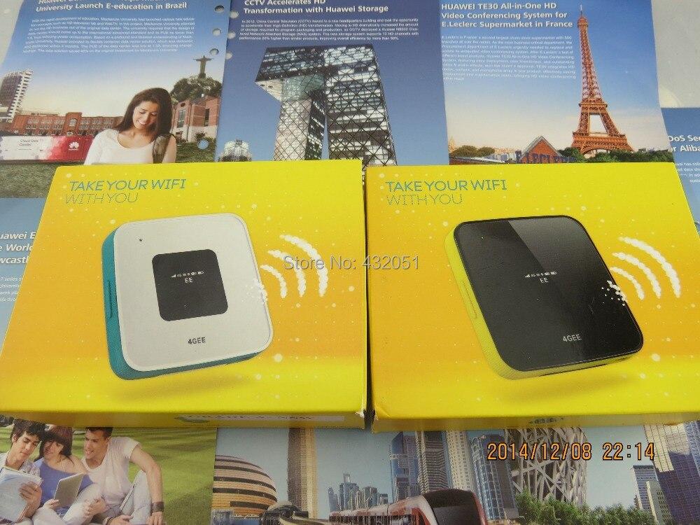 UNLOCKED ALCATEL Y855 4G MiFi Mobile WiFi Broadband Router Dongle Black/white