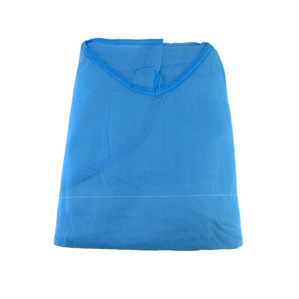 Image 3 - 10pcs/lot Disposable Aseptic Surgical Non Woven Gown Dust Operation Coat Clothes Clothing Hats Caps Tattoo Makeup AccessoryTattoo accesories   -