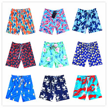 2018 BREVILE PULLQUIN Beach Board Shorts Turtle Pineapple Elk Red Shrimp Boardshorts
