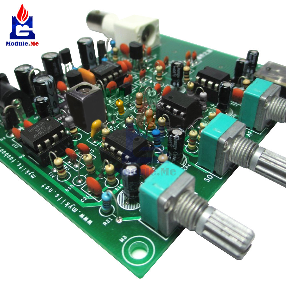US $11 89 10% OFF DIY Kits Air band Airband Radio Receiver Aviation Band  Receiver Filter Module Diy Kit Electronic PCB Board band pass filter-in