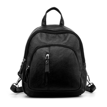 Fashion Leisure Women Backpacks Women's Quality Leather Backpacks Female School Shoulder Bags for Teenage Girls Travel Back pack high quality leisure women backpack pu leather chest shoulder bags for teenage girls travel school back pack fashion 2019 new