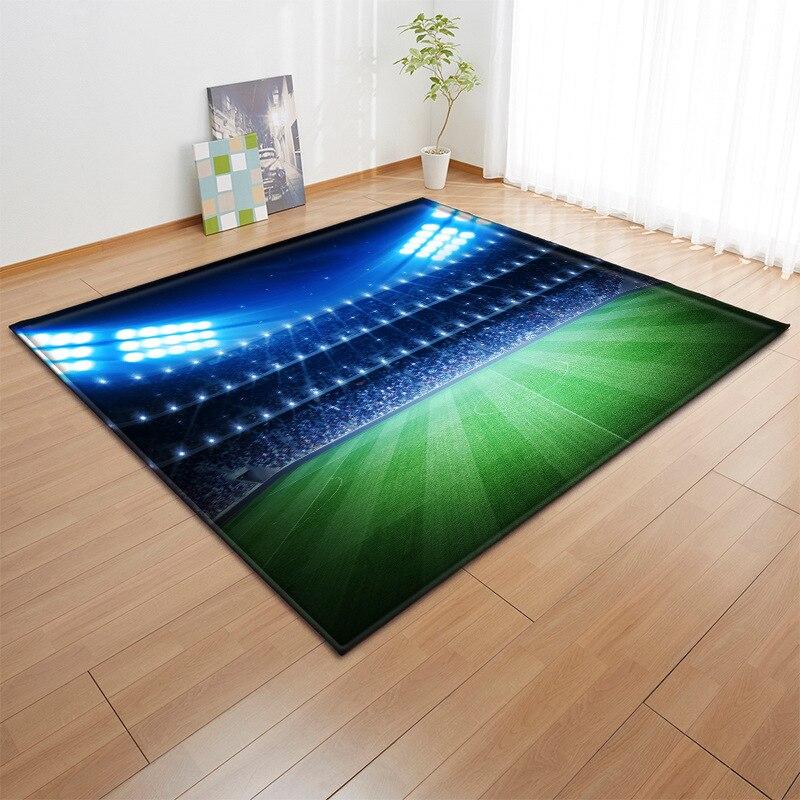 Creative vert verre Court 3D impression tapis couloir paillasson anti-dérapant salle de bains cuisine tapis zone tapis couverture plancher décor à la maison