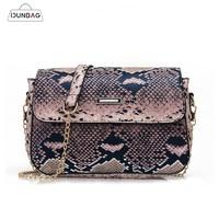 d84429acf IDUNBAG Small Crossbody Bag For Women Fashion Snake PU Leather Shoulder  Bags Female Chain Messenger Bag