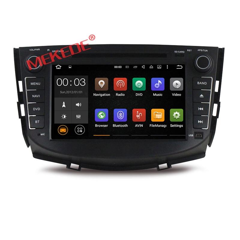 imágenes para 2din Android 7.1 2G RAM Quad core Coches Reproductor de DVD Para Lifan X60 16G nand con Radio de Navegación GPS BT wifi de la ayuda 4G LTE PGT