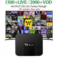 [WeChip] TX3 미니 4 천개 안드로이드 tv 박스 1 그램 + 16 그램/2 그램 + 16 그램 S905W 쿼드 코어 7.1 OS Kodi 17.3 마일 상자 HD 미디어 플레이어 pk tx2 x96 tv 상자