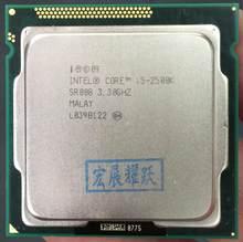 Intel Core i5-2500K i5 2500k CPU dört çekirdekli pc bilgisayar masaüstü işlemci LGA1155
