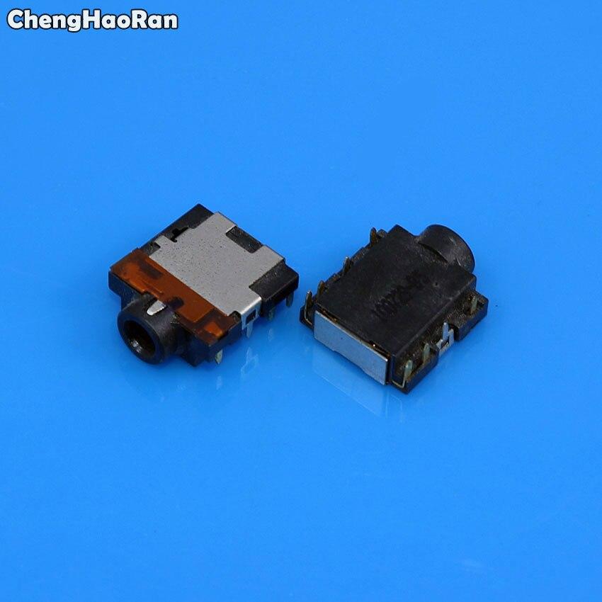 US $1 98 16% OFF|ChengHaoRan 2pcs 3 5mm 8pin Audio Jack connector,Female  Earphone Socket plug for Dell Inspiron 15R M5010 N5010 M5110 N5110-in