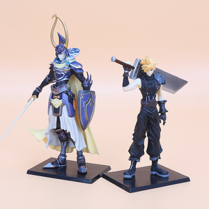 Image 4 - 5pcs/set 11 18cm Final Fantasy PVC Figures Collectible Model Toys Cloud Strife Squall Leonhart Tidus Warrior of Light Zack Fair