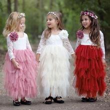 Платье для девочек Одежда для маленьких детей Детские платья-пачки принцессы Одежда для девочек бальное платье для свадебной вечеринки