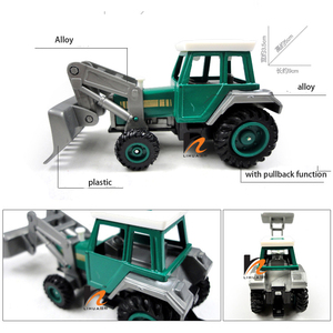 Image 4 - Promotion! Alloy Glide farmer engineering van car educational toys tractor scale models childrens toy
