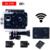 Estilo gopro hero 4 f60 câmera ação wi-fi 4 k ir à prova d' água Pro 2.0 LTPS LED Mini Cam Recorder Capacete Marinha Mergulho Esporte câmera