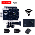 gopro hero 4 style F60 Action Camera Wifi 4K Go Waterproof Pro 2.0 LTPS LED Mini Cam Recorder Marine Helmet Diving Sport Camera