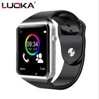 LUOKA Bluetooth Smart Watch LK1 With Camera Facebook Whatsapp Twitter Sync SMS Smartwatch Support SIM TF
