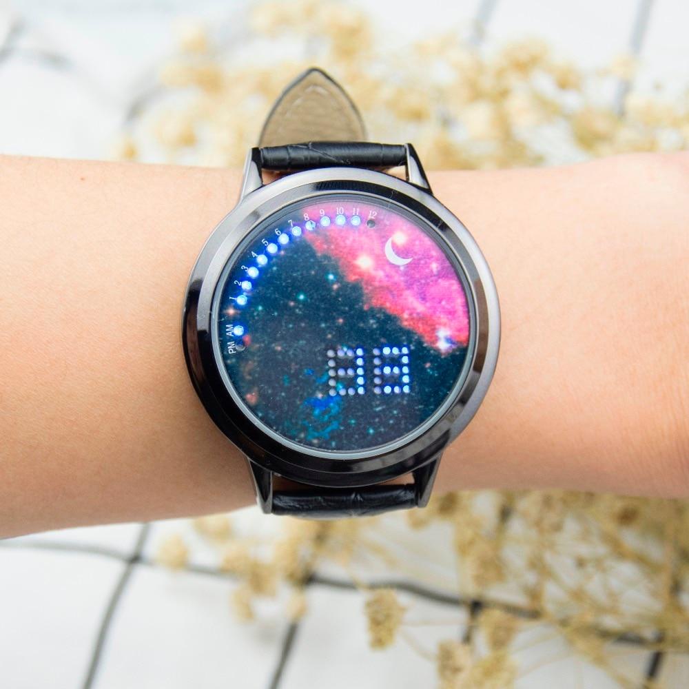 Luminous Ladies Watches Female Students LED Touch Screen Watch Women Clock Girls Relogio Feminino Luxury Brand Casual Watch