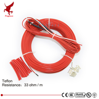110meters 33ohm low cost high quality Teflon PTFE carbon fiber heating wire Heating cable Infrared floor heating system