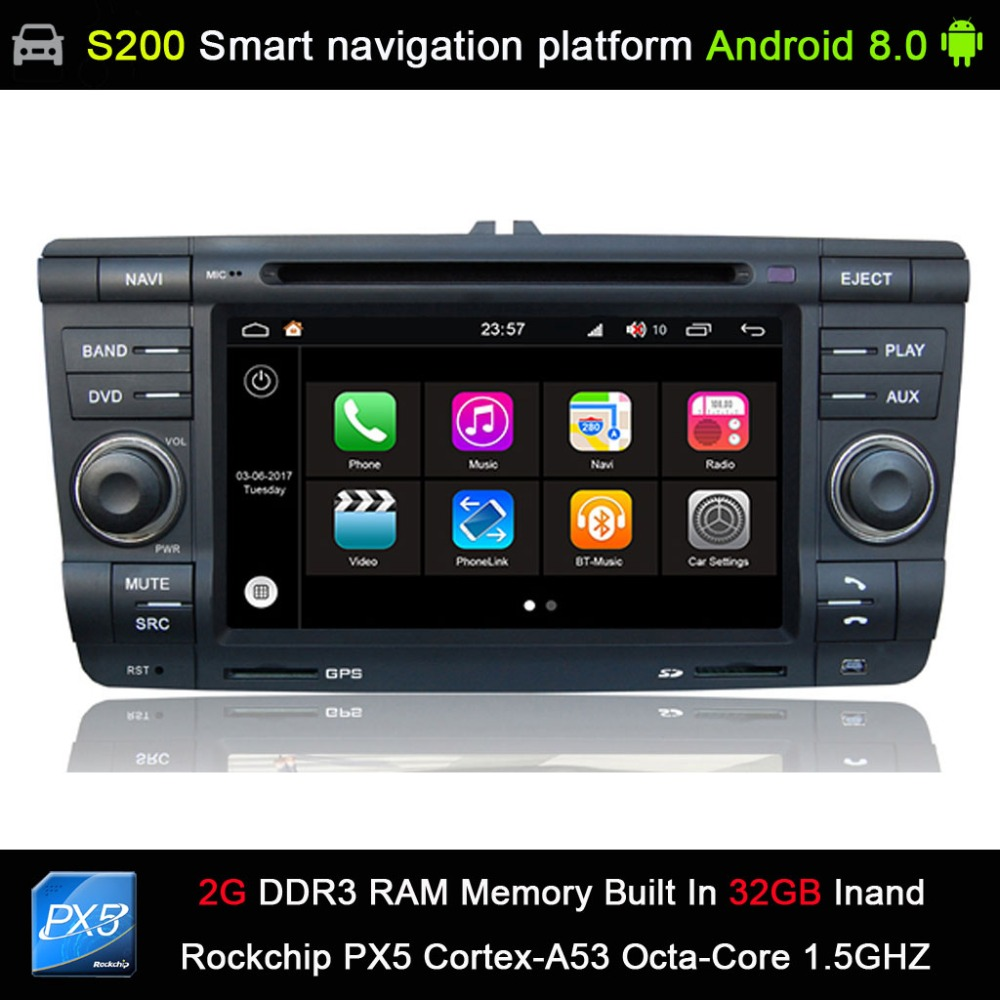 Android 8.0 8 Octa Core 32GB INAND flash CAR DVD PLAYER GPS for Skoda Yeti Octavia Laura Car Audio player