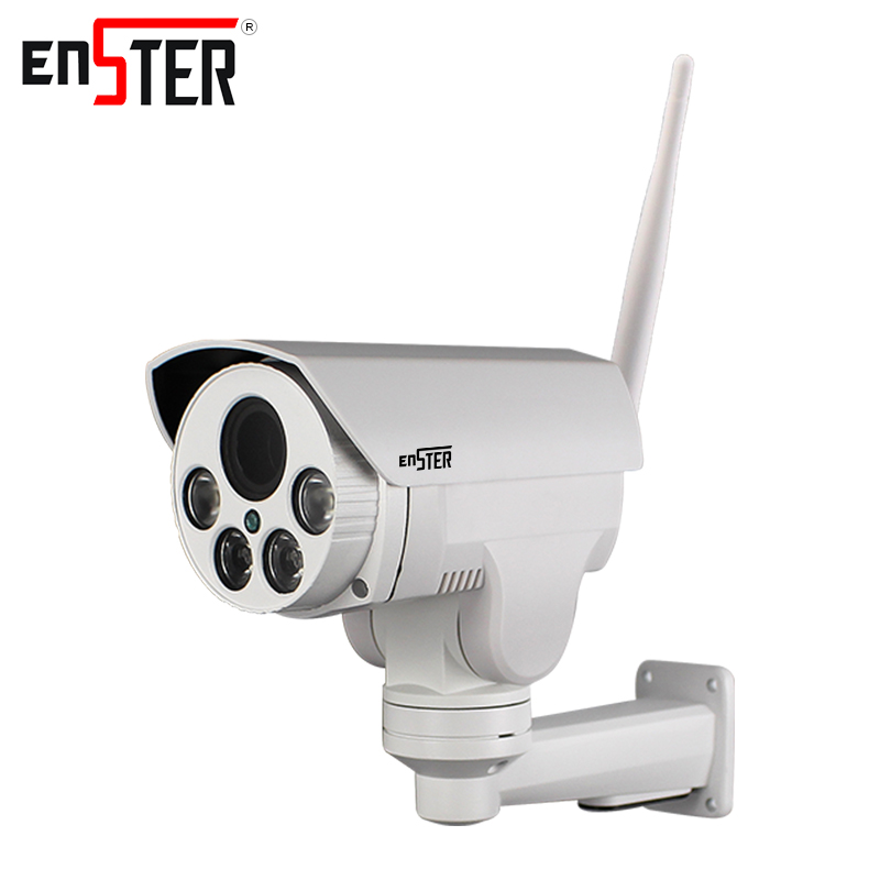 Enster PTZ Bullet ip camera Full HD 1080P wireless IP Camera wi-fi Auto Focus 2MP onvif ip security camera outdoor 1080p nikon d5600 dslr camera 24 2mp full hd 1080p wi fi bluetooth 2016 new release