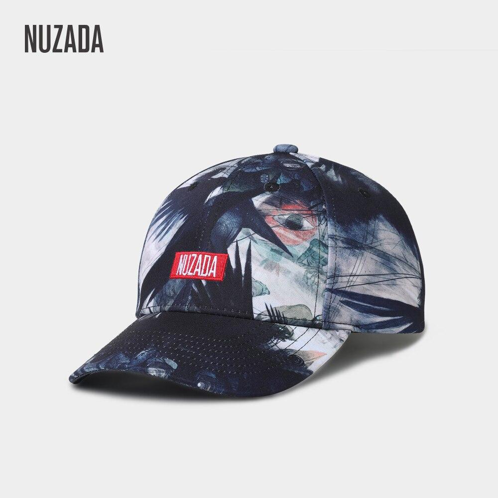 NUZADA Fashion Hat Snapback Original 3D Printing Design   Baseball     Cap   For Men Women Couple Neutral LOGO Letter Embroidery