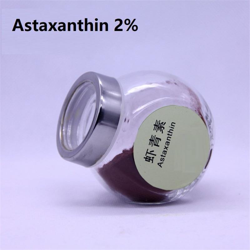 Cosmetics 100g /bag 2% astaxanthin, whitening skin, anti-oxidant, protects the skinCosmetics 100g /bag 2% astaxanthin, whitening skin, anti-oxidant, protects the skin