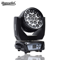 19x15w Bee Eye led moving head zoom function dmx512 Disco stage light