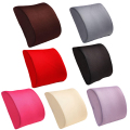 High Quality Fashion Memory Foam Seat Chair Lumbar Back Support Cushion Pillow For Office Car Auto Seat Chair Black Red color