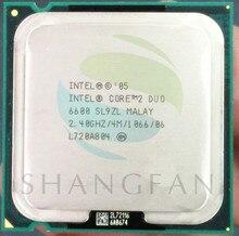 Intel E6600 SL9ZL Original desktops cpu Processor 2M/2.4 GHz/1066 FSB LGA 775 Dual-CORE