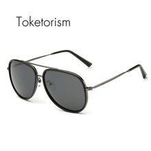 Toketorism Latest styles high quality Pilot sun glasses fashion designer unisex sunglasses polarized 9552