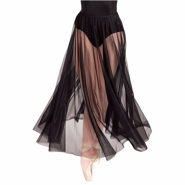 תפור לפי מידה זול טול חצאית שחור שכבה אחת