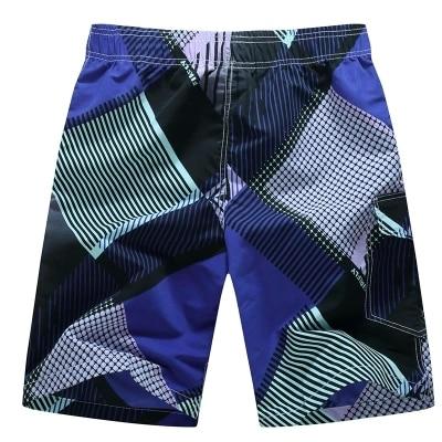 Новинка года качество свободные Traje de Бано Hombre модные дизайн стрейч пояс купальник для мужчин боксер - Цвет: Фиолетовый