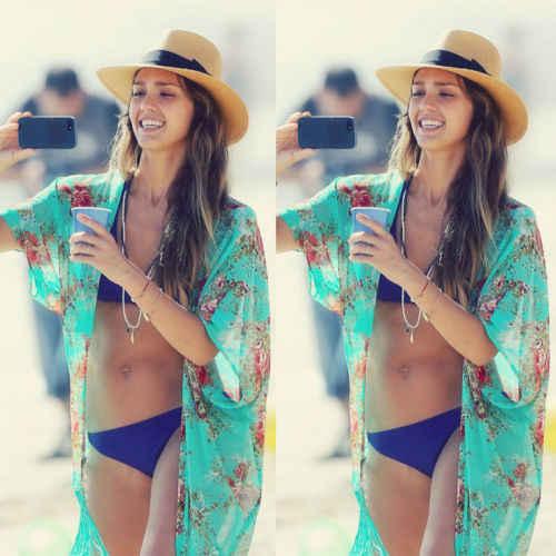 Женский летний купальник-бикини, шифоновый кафтан, Пляжное платье, топы AU