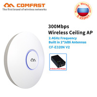 COMFAST wireless Ap wifi router 300Mbps Ceiling AP 802.11b/g/n Indoor AP 48V POE Open DDwrt Access Point AP built in antenna wif