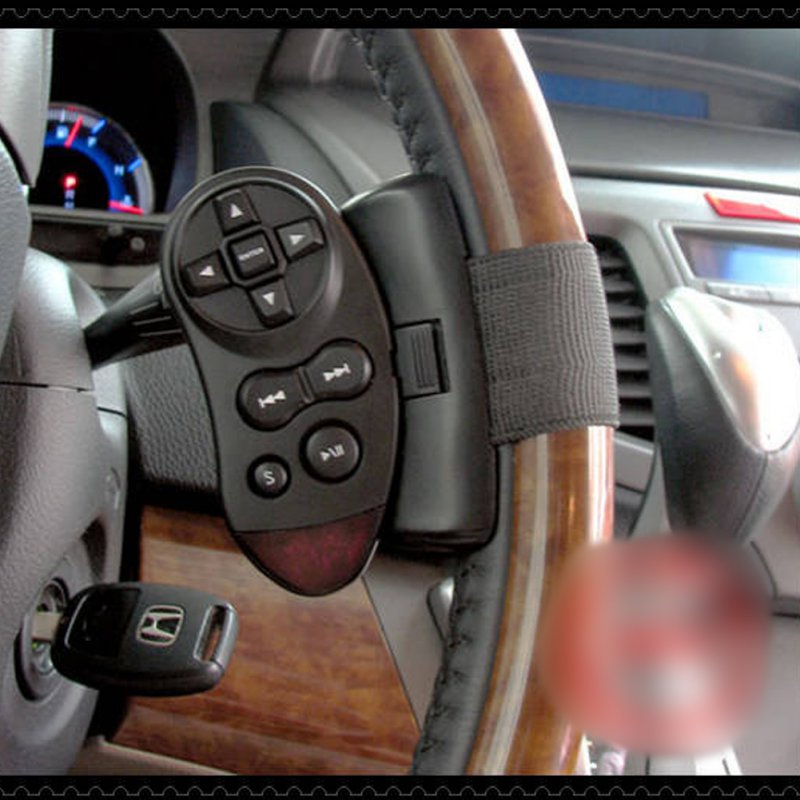 Steering Wheel DVD Universal IR Remote Control For GPS Car CD DVD TV MP3 Player Remotes Controls