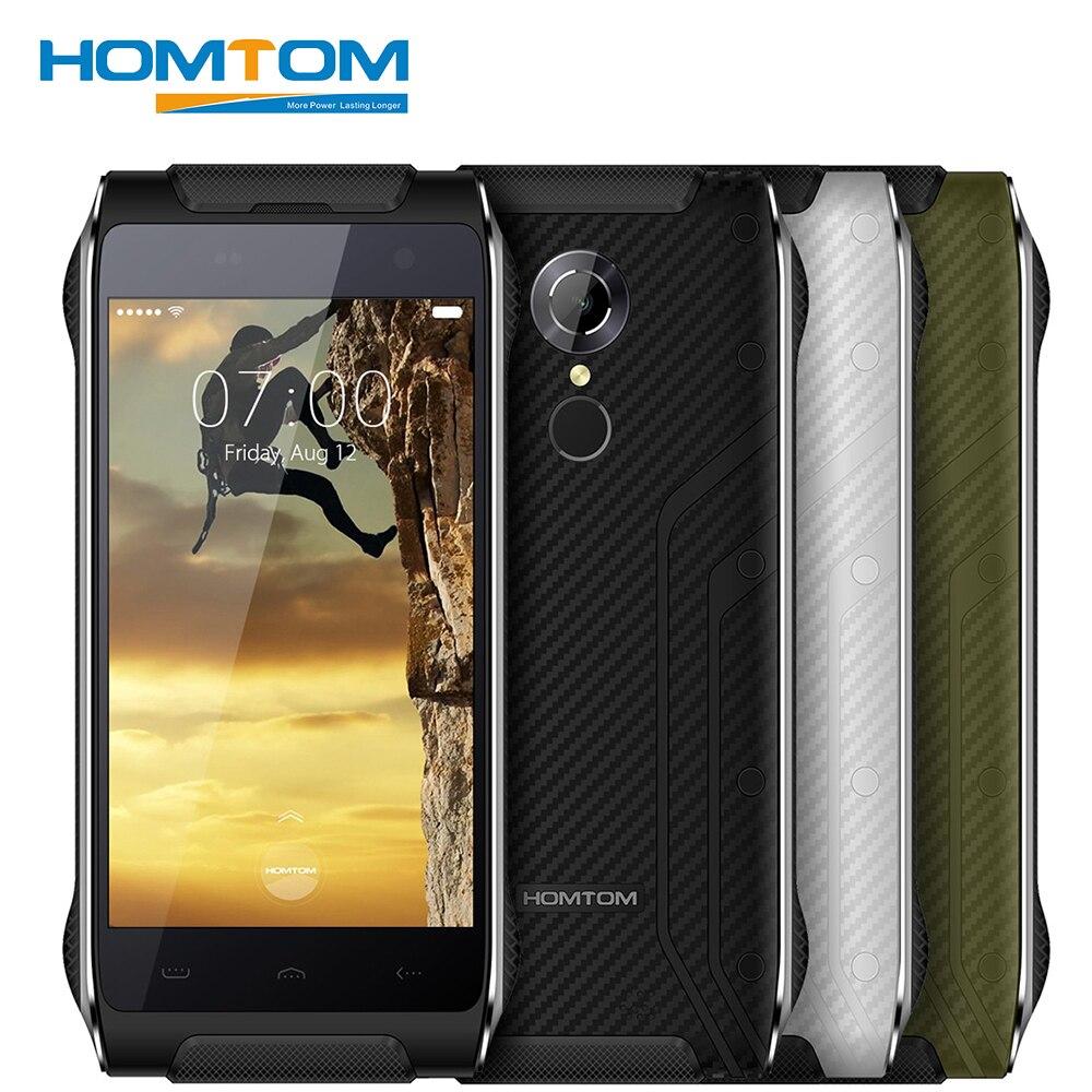 Цена за Homtom ht20 оригинальный ip68 водонепроницаемый смартфон android 6.0 mt6737 quad core 2 г ram 16 г rom 3500 мАч 8mp ударопрочный мобильный телефон