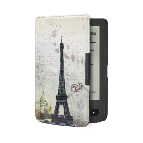 Folio PU Leather Book Cover Case For Pocketbook Touch Lux 3 Pocketbook 626 Plus Ereader Free
