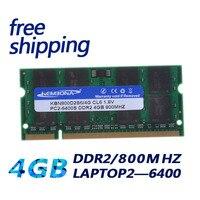 KEMBONA SODIMM LAPTOP DDR2 4GB 4G 800MHZ PC2 6400 RAM SPEICHER NOTEBOOK 200PIN MODUL-in Arbeitsspeicher aus Computer und Büro bei
