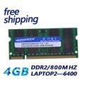 KEMBONA SODIMM LAPTOP DDR2 4GB 4G 800MHZ PC2-6400 RAM MEMORY NOTEBOOK 200PIN MODULE